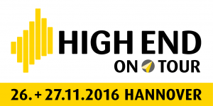 HIGH END on Tour 2016 in Hannover